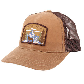 Mountain Lab Mesh Back Hat in Field Tan by Over Under Clothing
