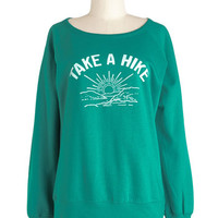 ModCloth Travel Mid-length Long Sleeve Mountaineering Maven Sweatshirt