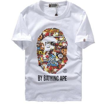 hcxx A Bathing Ape Baby Milo Zoo By Bathing T-Shirt