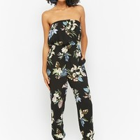 Floral Tube Jumpsuit