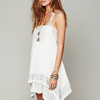 FP ONE Embroidered Poncho Dress at Free People Clothing Boutique