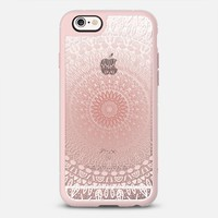 PINK HAPPY MANDALA iPhone 6s case by Nika Martinez | Casetify