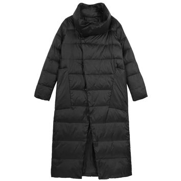 Asymmetrical Puffy Coat