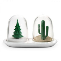 Winter & Summer Salt & Pepper Shakers