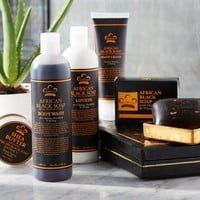 Nubian Heritage African Black soap Kit