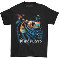 Pink Floyd Men's  Dark Side Galactic T-shirt Black