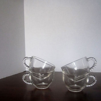 Anchor Hocking Bubble Snack Cups - Set of 4 - 50s