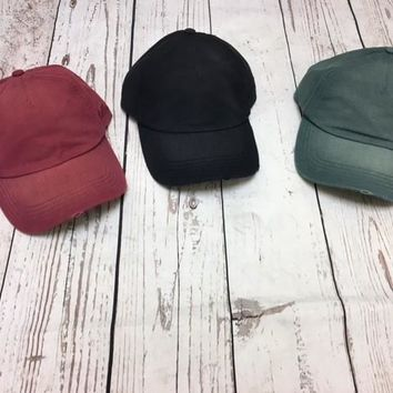 Solid Color Billabong Hats