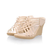 Weave Style Wedges