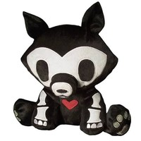 Toynami Skelanimals Encore Deluxe Jae Plush - Wolf