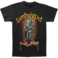 Lamb Of God Men's  Again We Rise T-shirt Black