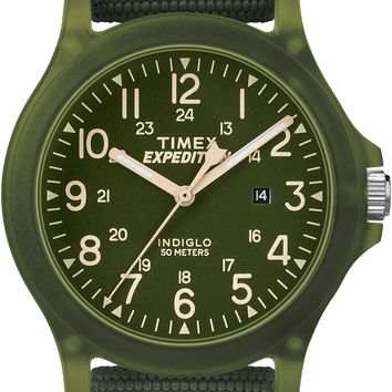 Timex Unisex Expedition Arcadia Green Fabric Strap Watch