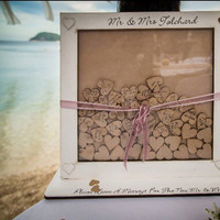 Drop Box Guestbook, Wedding Guestbook, Dropbox, Guest sign,