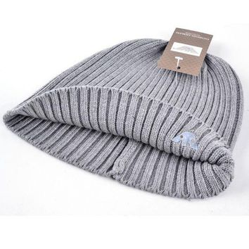 Fashion Gorro Casquette Women Winter Beanie Knitted Wool Caps Solid Color Stripes Hats For Men Beanies Cotton Mask Bone
