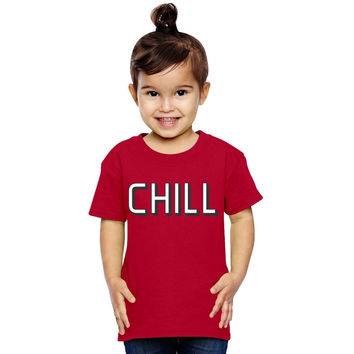 Funny Netflix And Chill Toddler T-shirt