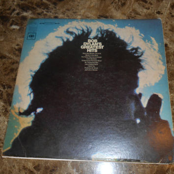 Vinyl Record Bob Dylan - Bob Dylan's Greatest Hits - Like a Rolling Stone - Vintage 1967