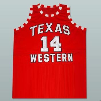 Glory Road Bobby Joe Hill Texas Western 14 Basketball Jersey