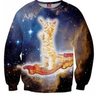 Bacon Cat Sweatshirt | All Over Print Shirts | Rave and EDM Apparel