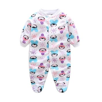 Unisex Baby Clothes Brand Animal Cartoon Baby Rompers Long Sleeves Fleece Infant Coveralls Newborn Boy Girl Clothes Jumpsuits