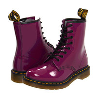 Dr. Martens 1460 W Purple Patent Lamper - Zappos.com Free Shipping BOTH Ways