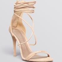 Burberry Open Toe Platform Sandals - Mirabel High Heel