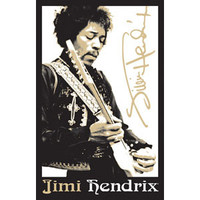 Jimi Hendrix - Blacklight Poster