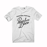 Panic at the disco  t-shirt unisex adults