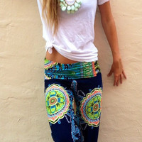 Print Casual Pants [6338686916]