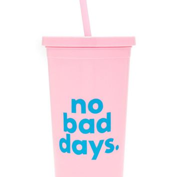 No Bad Days Sip Sip Tumbler by Bando