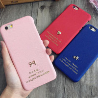 Lucky charm phone Case for iPhone 6 6s 6plus 6s plus + Nice gift box!