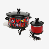 Disney Mickey Mouse Slow Cooker & Dipper Set