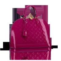 LOUISVUITTON.COM - Louis Vuitton  Alma MM (LG) MONOGRAM VERNIS Handbags
