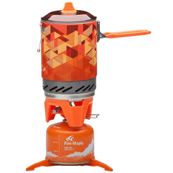 Fire Maple Personal Cooking System Outdoor Backpacking Hiking Camping Oven Portable Best Propane Gas Stove Burner FMS-X2