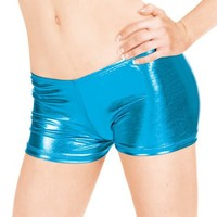 Adult Metallic Dance Shorts,N8392