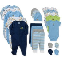 Walmart: Garanimals Newborn Baby Boy Perfect Shower Gift 21 Piece Set