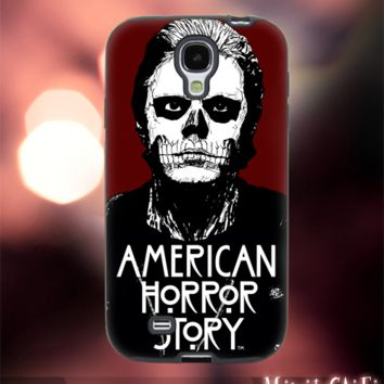 MC125Y,12,tv series,american horror story -Accessories case cellphone-Design for Samsung Galaxy S5 - Black case - Material Soft Rubber
