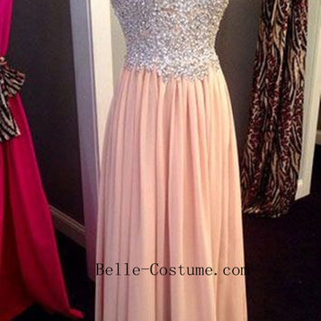 Prom Dress, Sweetheart Prom Dress, Strapless Evening Dress