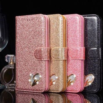 Bling Glitter Leather Stand Wallet Case Cover for iPhone X XS Max Xr 6 7 8 11bd0523d0