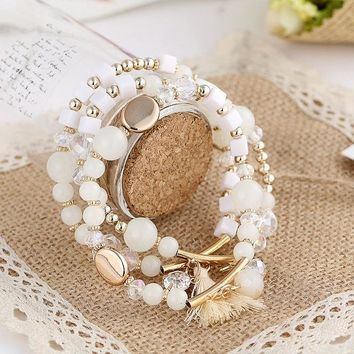 Bohemian Beach Style Multi-Layer Bracelet