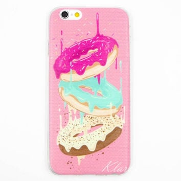 Fun Melting Donut Frosting Case for iPhone 6 6s Plus
