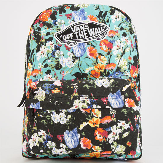 Vans Realm Backpack Black One Size For Women 24813010001 36a350612ecb4