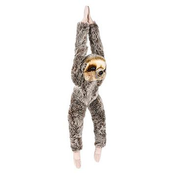 18 Inch Hanging Sloth Stuffed Animal Plush Sloth Kingdom Collection