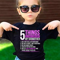 5 Things You Should Know About My Crazy Godmother T-Shirt