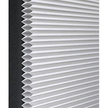 Busy Bee Collection Mocha Honeycomb Cellular Pleated Light Filtering Room Insulating Shade (31 inch  x 64 inch )