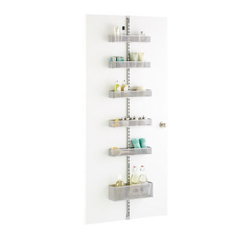 Platinum elfa utility Mesh Bathroom Door & Wall Rack Solution
