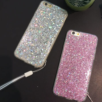Newest Twinkle Case Cover for iPhone 7 7plus & iPhone se 5s & iPhone6 6s Plus + Gift Box
