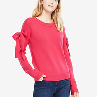 Shoulder Tie Sweater | Ann Taylor