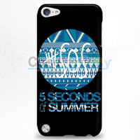 5 Seconds Of Summer - 5Sos Floral Pattern iPod Touch 5 Case | casefantasy