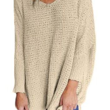 Big yards long sleeve thin sweater female