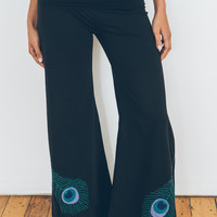 Peacock Wide Leg Pants